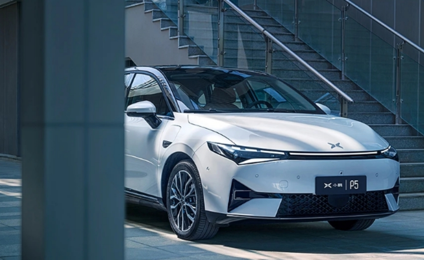 小鹏P5汽车上市:配激光雷达,起售价仅15.79万元
